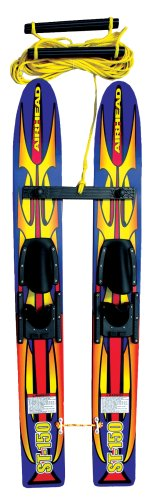 Airhead Double Handle Ski Rope - Airhead AHST-150 Trainer Water Skis