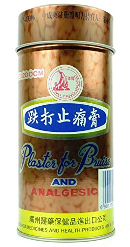 WU YANG Brand - Plaster for Bruise and Analgesic 10 x 200cm (Hong Kong Version) HKP -03396