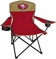 Rawlings NFL XL Lineman Tailgate and Camping Folding Chair, San Francisco 49ers