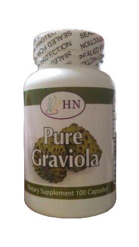 Graviola 1300mg par portion de 100 bouteilles par Nutritions de santé fraîches