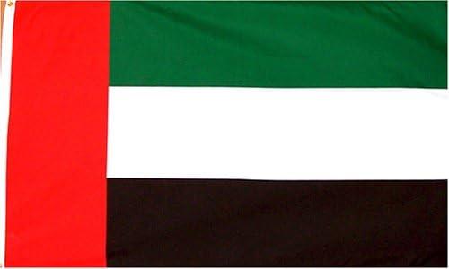 Amazon Com United Arab Emirates Flag New 3 X 5 Uae Dubai Banner Outdoor Flags Garden Outdoor