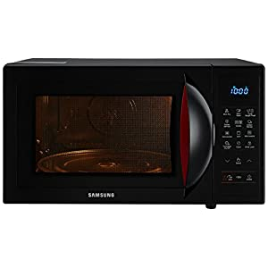 Samsung 28 L Convection Microwave Oven (CE1041DSB2/TL, Black, SlimFry)