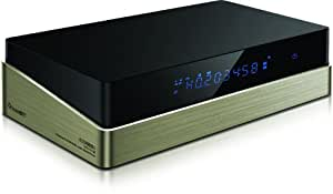 Iconbit MD-0301L XDS1003D Media-Player - Reproductor multimedia (Realtek RTD1186DD, respaldo de Blu-ray, RJ-45, DVB-T, SPDIF, SATA I/II, HDMI, Composite Video-Out, USB 3.0)