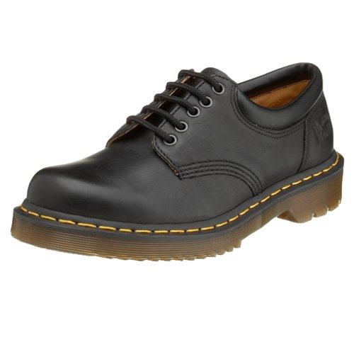 Dr. Martens 5 Eye Padded Collar,Black Nappa,10 UK (US Men's 11 M/Women's 12 M) - Mens 5 Eye Padded Collar