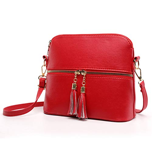 Women's Fashion Wild Solid Color Diagonal Bag Classic Shell Bag Wild Shoulder Bag Multiple Colour