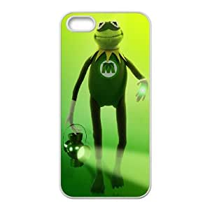 iPhone 4 4s Cell Phone Case White MUPPETS KERMIT PIGGY FUN 006 SYj_902227