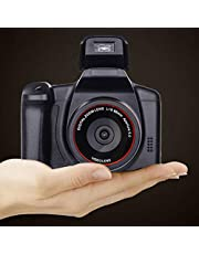 Digitale camera vloggen camera videocamera, 1080P Ultra HD LCD-scherm 2,4 inch 16X digitale zoom, anti-shake cameras voor beginners