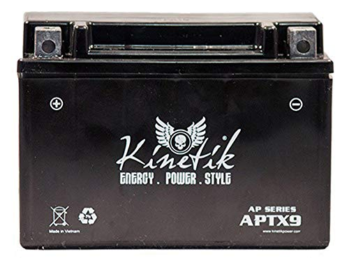 Kinetik NEW IN BOX MOTORCYCLE SCOOTER REPLACEMENT BATTERY AP