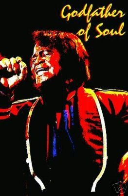 james brown poster rare collector