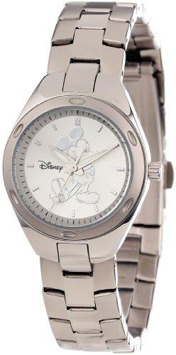 - Disney Women's W000487 Mickey Mouse Stainless Steel Bracelet Watch