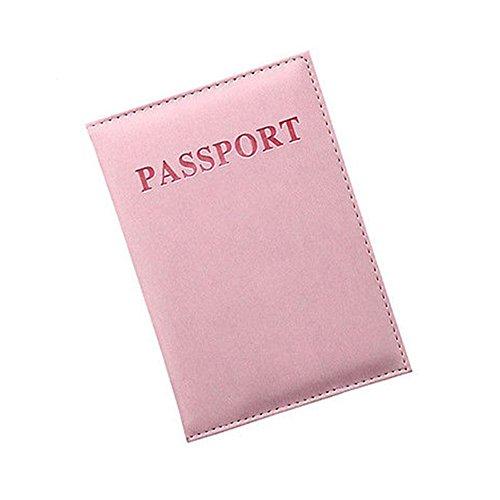 Vin beauty wlgreatsp Travel Sports Pasaporte Ticket Card Cintura Bolsa Wallet Security Belt Band Secure Pink