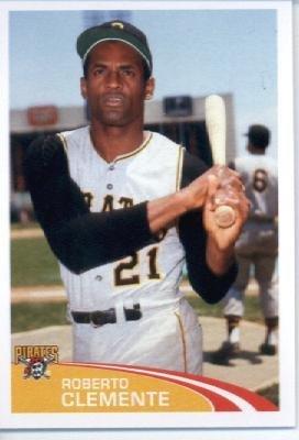2012 Topps Baseball MLB Sticker #245 Roberto Clemente