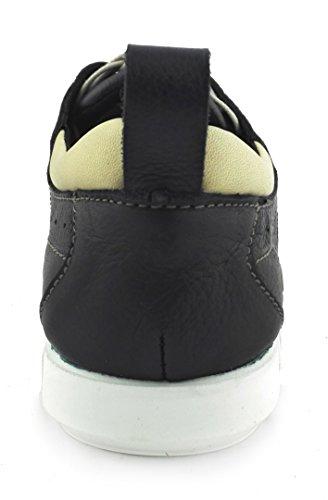 Zerimar Chaussures Homme Cuir| Chaussures Homme de Ville | Chaussures Confortables |Chaussures Bateau en Cuir pour Homme Bleu Marine Uk7FlU