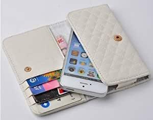 Andre-case Canica New White Soft Little Sheep Pattern PU Leather Woman Handbag Wallet Cover case cover for iPhone 5s/iPhone 5 5S/iPhone 5s KyUoBPaXEjI