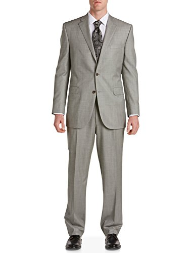 Jack-Victor-Big-Tall-Sharkskin-Nested-Suit-Long-Grey