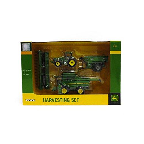 Ertl Collectibles John Deere Harvesting Set