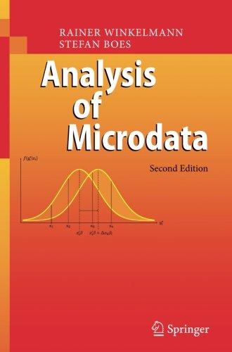 Download Analysis of Microdata PDF