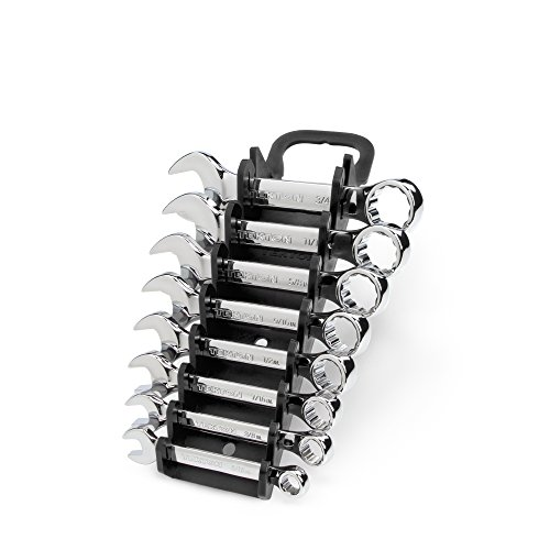 TEKTON Stubby Combination Wrench Set with Store and Go Keeper, 5/16-Inch - 3/4-Inch, 8-Piece | - Mac Tools Wrenches
