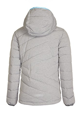 Killtec Mid Jr Girls Jr Girls Grey Down Jacket Rivana 'Rivana 6w68nRB7r