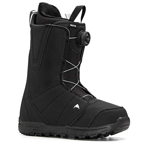 Burton Moto Boa Snowboard Boot - Men's Black, 10.5