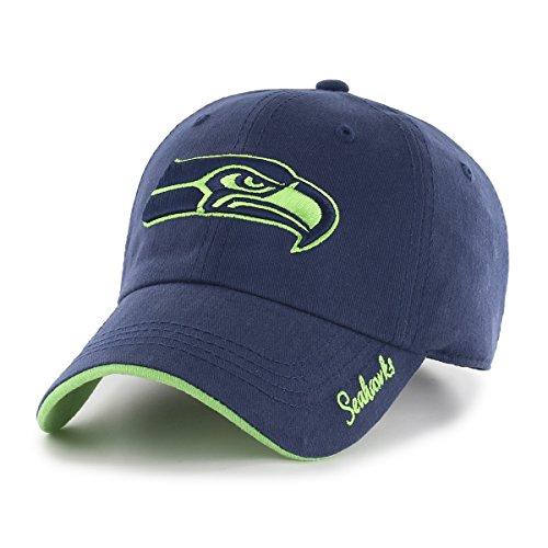 OTS NFL Seattle Seahawks Women's Accolade Challenger Adjustable Hat, Women's, Light Navy