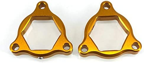Color : Gold LIWENCUI 19mm Motorcycle Accessories Suspension Fork Preload Adjusters for HONDA CRF 1000L CRF1000L Africa Twin ABS//DCT