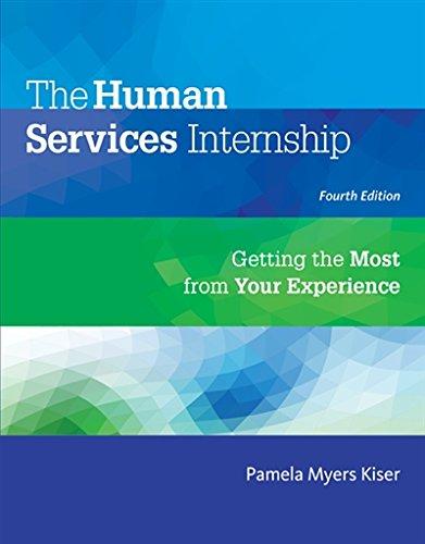 Human Services Internship