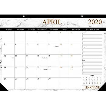 Amazon.com: Planificador de mesa o calendario de pared de ...