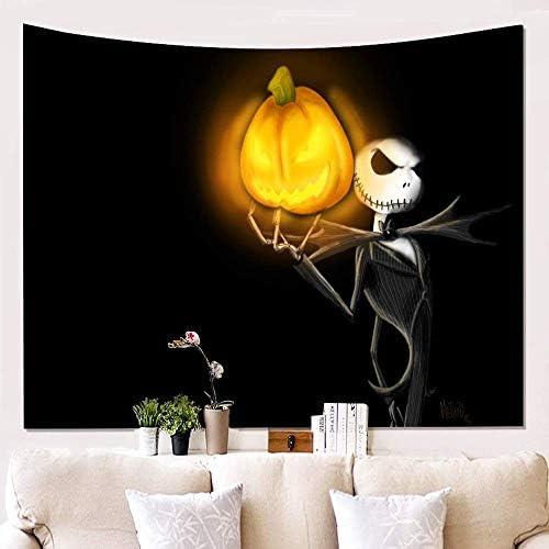 壁掛けタペストリー タペストリー(ベッドカバー)ハロウィン3dプリント壁掛け背景布絵画ヨガビーチスカーフ壁装飾毛布150 * 100センチ、8 寝室用タペストリー