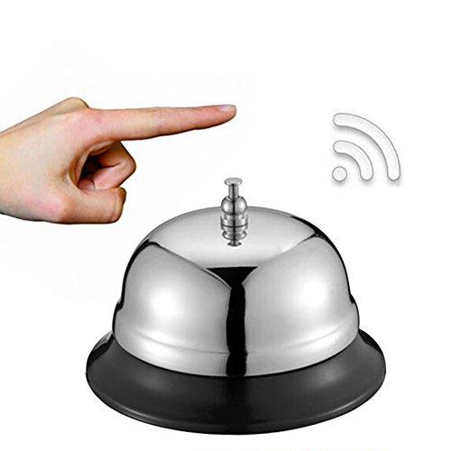 Anillo de acero para restaurante, servicio de comida, recepción, recepción, oficina, hotel, cocina, etc, S