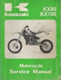 1998 KAWASAKI MOTORCYCLE KX80,KX100 P/N 99924-1219-01 SERVICE MANUAL (760)