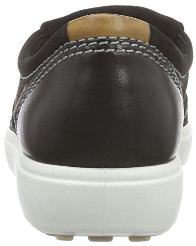 Ecco ECCO SOFT 7 LADIES - pantuflas con forro de cuero mujer Negro (BLACK/BLACK53859)