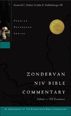 Zondervan NIV Bible Commentary, Volume I
