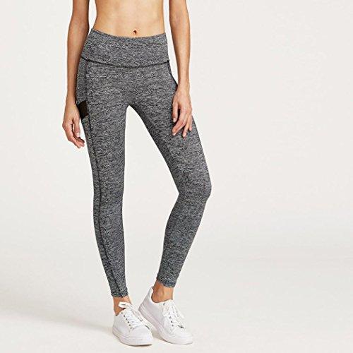 Webla Mujeres Casual Deportes Gimnasio Yoga Correr Leggings Fitness Pantalones Ropa de entrenamiento
