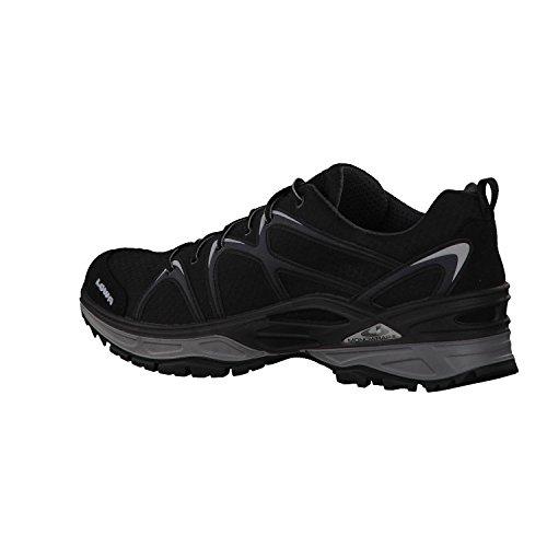 Lowa hombre multifunción zapatos Negro (Schwarz/grau 9930)