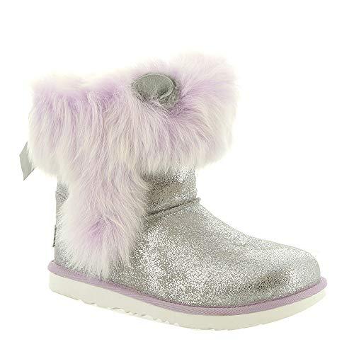 UGG Big Kids Maizey Classic II Boot Silver/Lavender Size 6 M US Big Kid ()