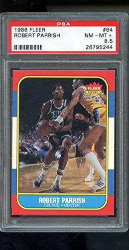 1986-87 Fleer #84 Robert Parrish Boston Celtics PSA 8.5 Graded Basketball Card ()