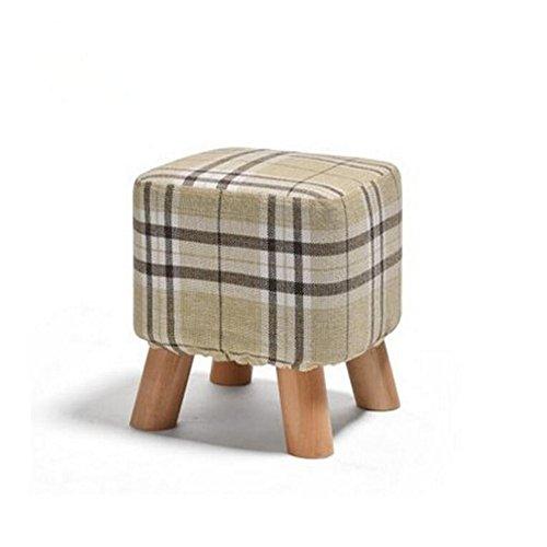 wood taboret - 2