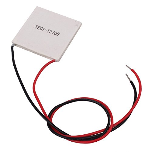 10Pcs TEC1-12706 40*40MM 12V 60W Heatsink Thermoelectric Cooler Cooling Peltier Plate Module by diymore (Image #1)