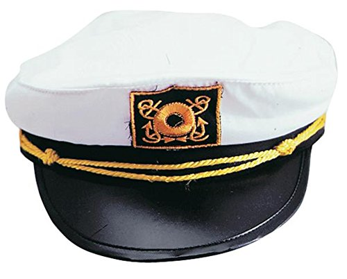 Captains Hat - Skipper Your Own Kon Tiki Raft !!!One size fits most ()