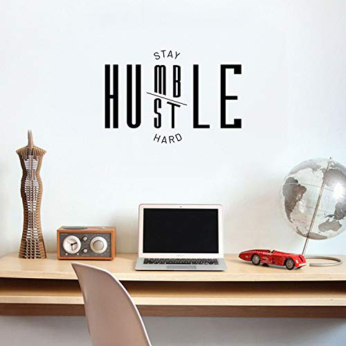 Vinyl Wall Art Decal - Always Stay Humble and Kind - 8