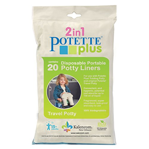 Kalencom Potette Plus Liners, 20 count (Potty Refills Liner)