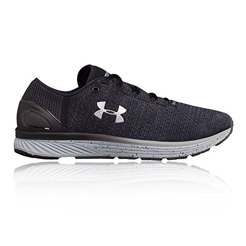 Under Armour Men's Charged Bandit 3 Running Shoes Stealth Grey/Black/Metallic Silver Size 11.5 M US