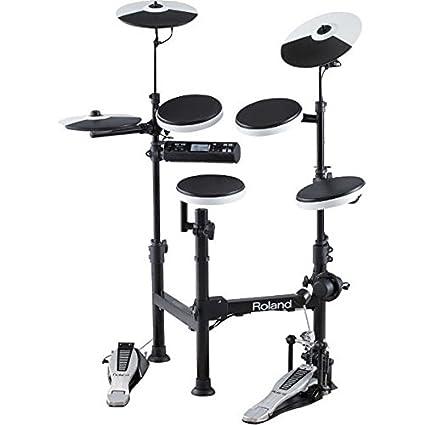 Amazon Com Roland V Drums Td 4kp Portable Electronic Drum Set Black