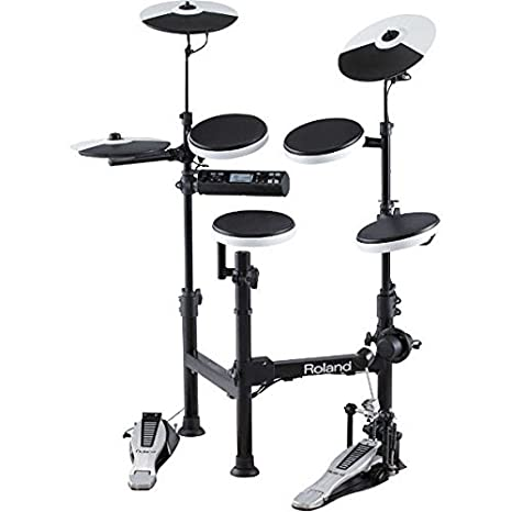 Amazon Com Roland V Drums Td 4kp Portable Electronic Drum Set Black