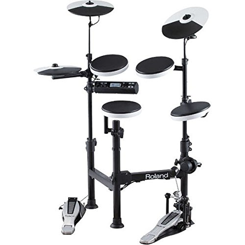 Roland V-Drums TD-4KP Portable Electronic Drum Set Black ()