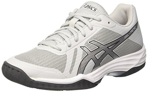 Asics Damen Gel-Tactic Volleyballschuhe Grau (Glacier Grey / Silver / Dark Grey)