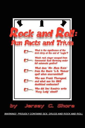 Rock and Roll Fun Facts and Trivia [Shore, Jersey C.] (Tapa Blanda)