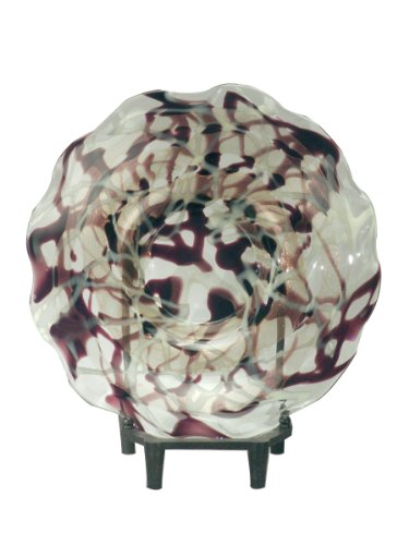 Dale Tiffany PG70691 Roxbury Decorative Charger Plate wit...