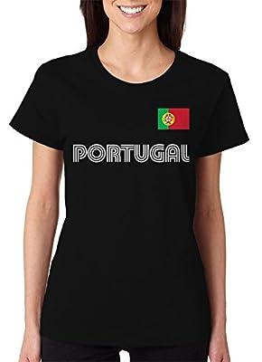 SpiritForged Apparel Portugal Soccer Jersey Women's T-Shirt